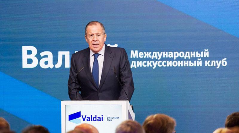 Выступление и ответы на вопросы министра иностранных дел России Сергея Лаврова на Ближневосточной конференции клуба «Валдай»