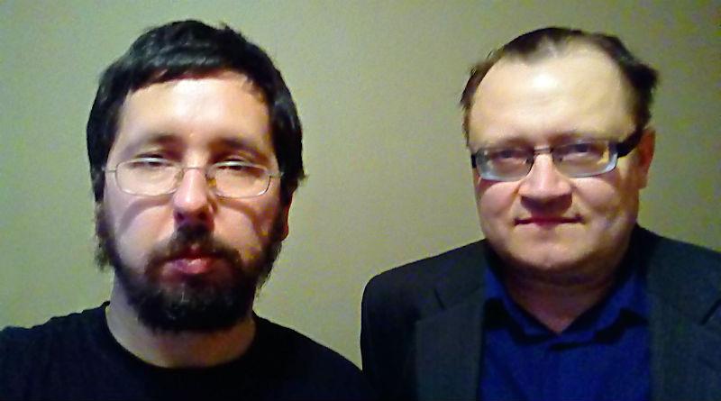 Михаил Чернов и Юрий Шевцов, 08.03.2018