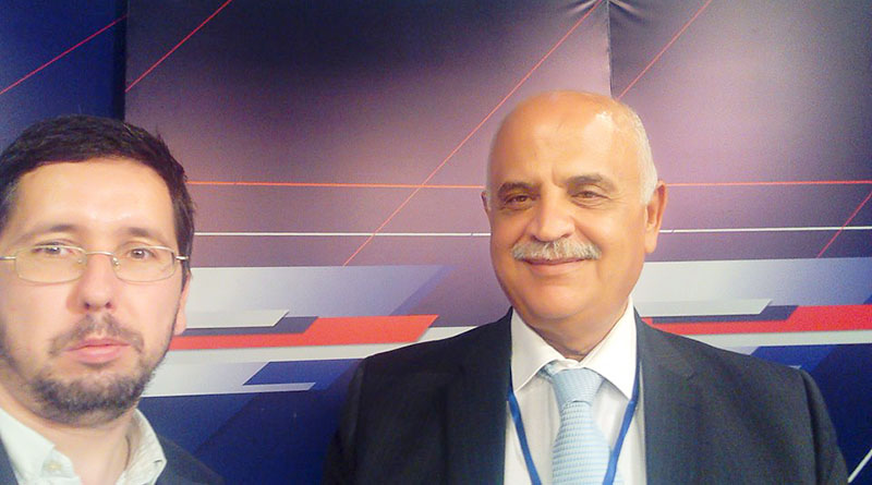 Михаил Чернов встретился с генералом Элиасом Салимом Фархатом, директором Армии Ливана по связям с общественностью в 1996-2005