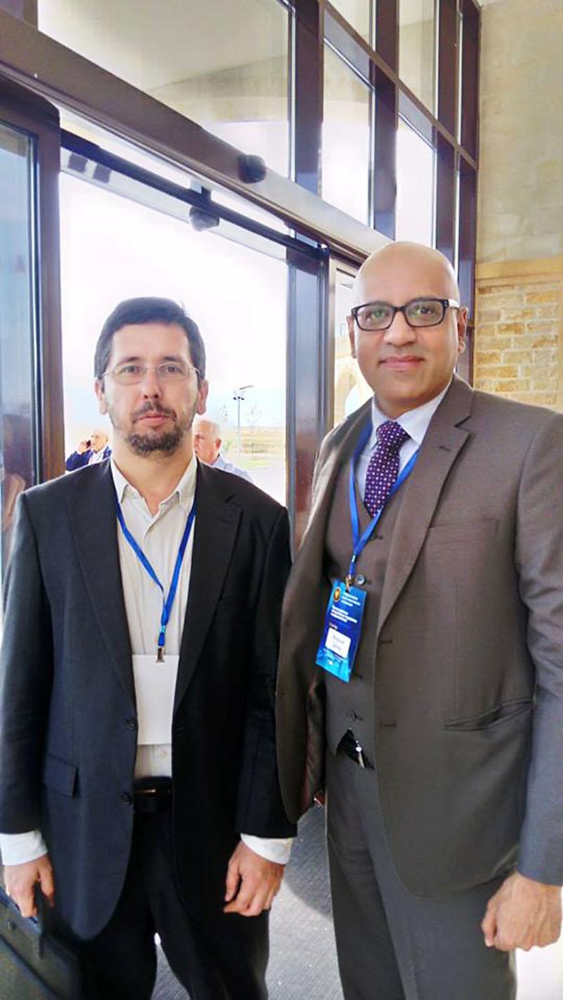 Михаил Чернов встретился с директором секретариата Национального Управления по борьбе с терроризмом Исламской Республики Пакистан д-ром Фарханом Захидом