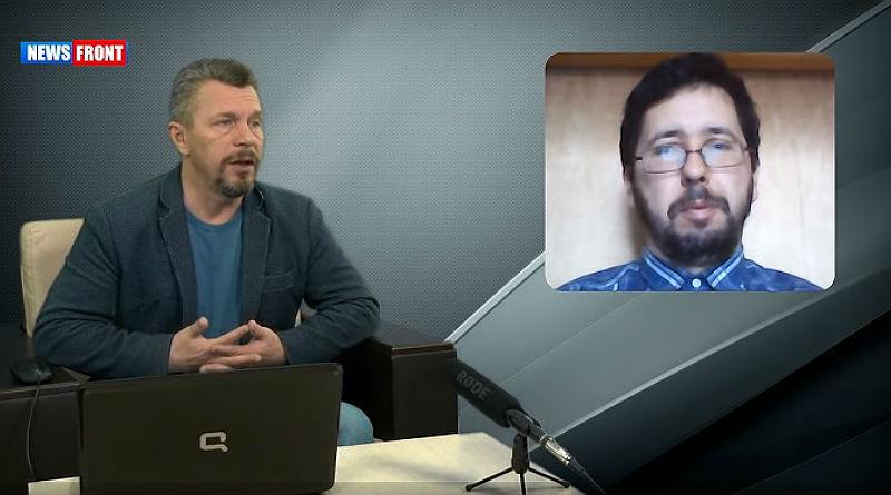 NEWS FRONT. Михаил Чернов: Американцы запустили скрытые процессе, объявив о выходе из Сирии