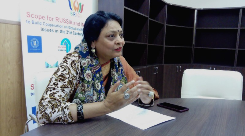 Пурнима Ананд, президент Международного форума БРИКС