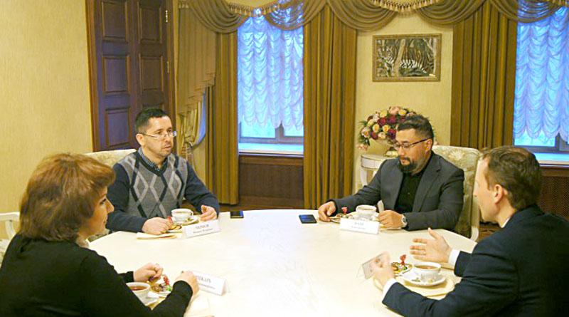 Встреча с заместителем главы правительства ЕАО Ильей Семеновым