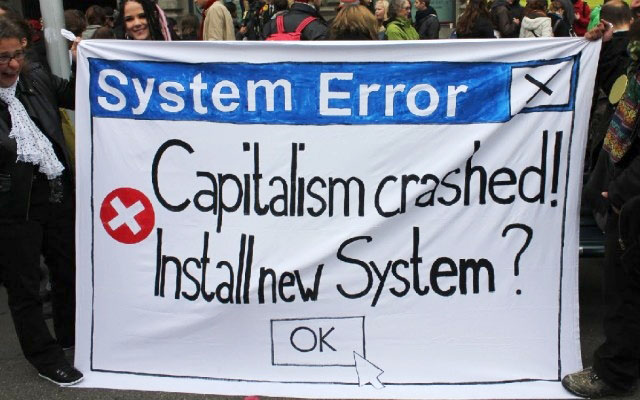 Системный кризис капитализма: фашизм не пройдет, на горизонте маячит социализм