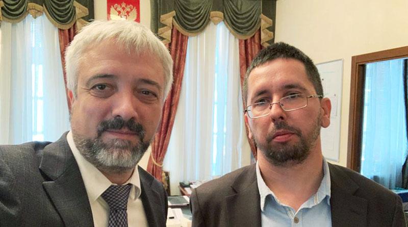Встреча с главой Россотрудничества Евгением Примаковым, 15.09.2020