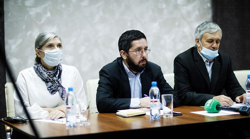 Выступление Михаила Чернова на конференции в Томске