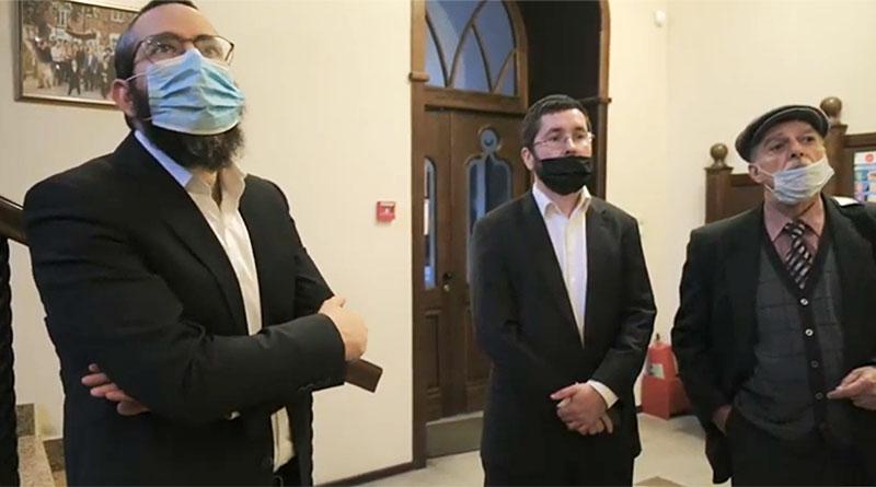 Визит в томскую еврейскую общину
