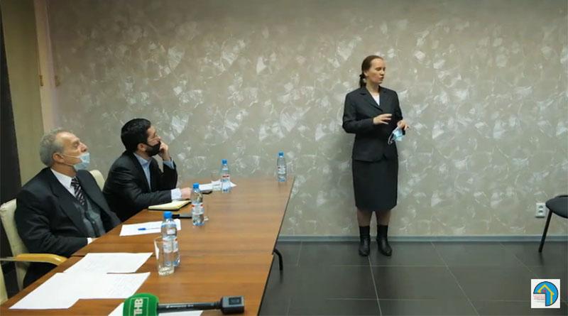 Выступление Валерии Лемской на конференции в Томске